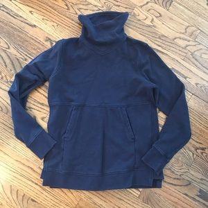 LULULEMON Navy Blue Sweatshirt Sweat Shirt 10